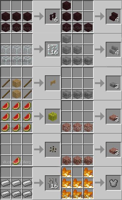 Как сделать метал в майне